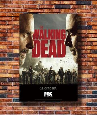Art The Walking Dead Season 8 USA Hot TV Series 24x36in Poster - Hot Gift C3039