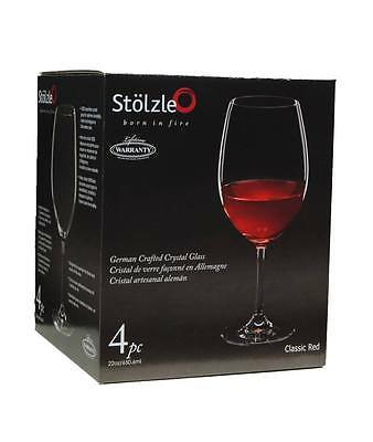 Stolzle Classic Red Wine Glass, 22oz - Set of 4