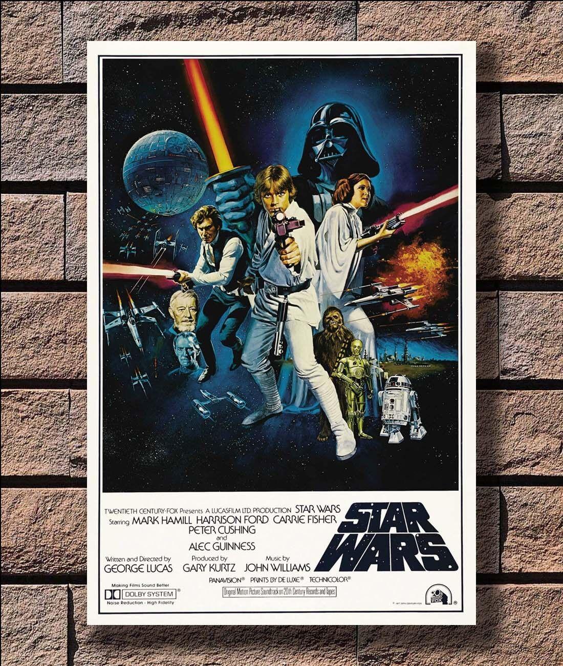 KX201 New Star Wars Classic Movie Series Print 20x30 24x36 40in Silk Poster