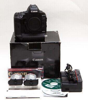 Canon EOS 1DX 1D X Mark II 20.2 MP Digital SLR Camera + 2x Batteries * USA