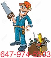 HANDYMAN SERVICE- HOME RENOS - DRYWALL / BACKSPLASH / TILES