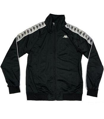 Kappa 222 Anniston Black Track Jacket