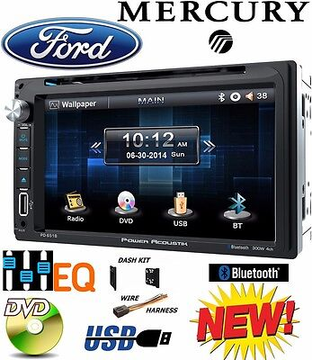 Ford Excursion Interior (FORD MERCURY TOUCHSCREEN Bluetooth CD DVD USB Radio Stereo Double Din Dash Kit )