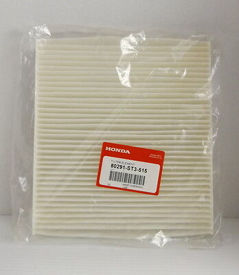 Honda Filter Element Cabin Filter 80291-ST3-515 Genuine OEM New in Package, used for sale  Monkton