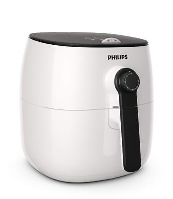 New Philips Viva 2 1425W Turbostar Multi-Cooker Low-Fat Airfryer - White/Black