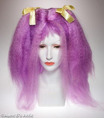 Perücke Club Kinder Lavendel Unscharf Witzig Zopf Synthetische Haare - Lavendel Kinder Kostüm