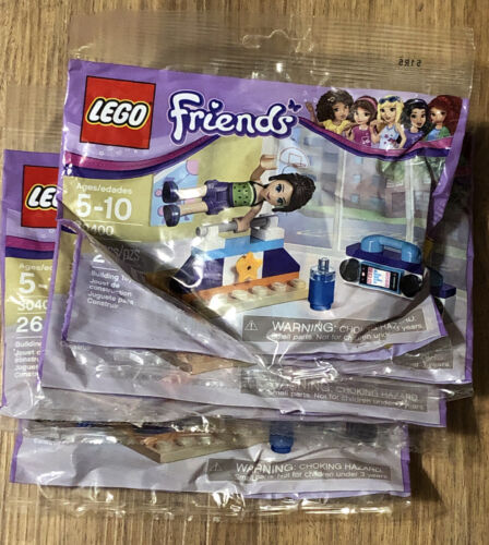 NEW Lego Friends Building 5 Set Of 30400 Building Toys 5-10ages New Sealed - $17.49