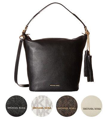 Michael Kors NEW Elana Large Convertible Shoulder Hobo Tote Handbag Purse $378