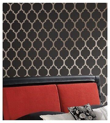 Casablanca Moroccan Stencil Pattern - Diy Reusable Stencils For Walls & Fabric