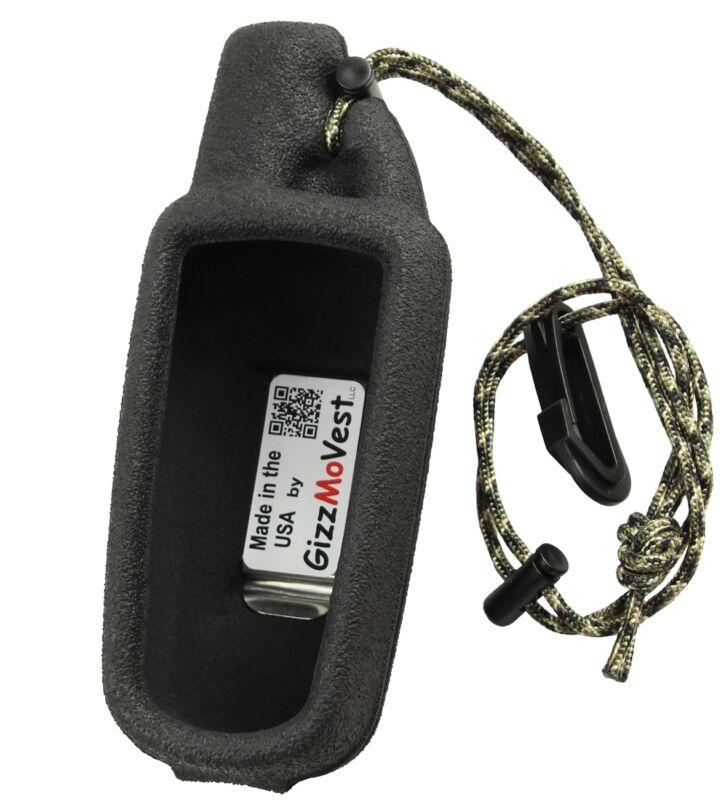 Garmin 60csx, 60cx, 60cs CASE, Heavy-Duty Made in the USA by GizzMoVest, Black