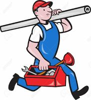 Plumber for hire 771-3793