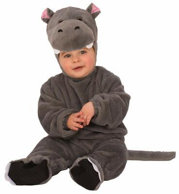 Baby Hippo Animal Hippopotamus Cute Fancy Dress Halloween Toddler Child Costume ()