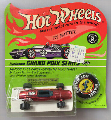 Vintage 1967 Mattel Hot Wheels Redline Indy Eagle. Exclusive Grand Prix Series