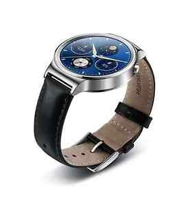 Huawei W1 watch stainless steel leather black Brand new Coorparoo Brisbane South East Preview