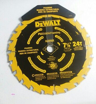 Precision Series Circular Saw Blade 24t 7-14in Blade