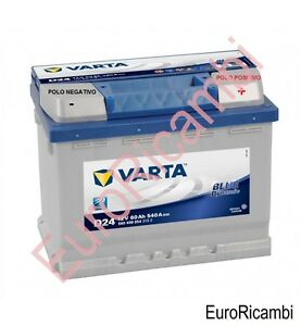 batteria accumulatore auto varta 60ah per peugeot 207 1 4 hdi 50 kw dal 2006 ebay. Black Bedroom Furniture Sets. Home Design Ideas