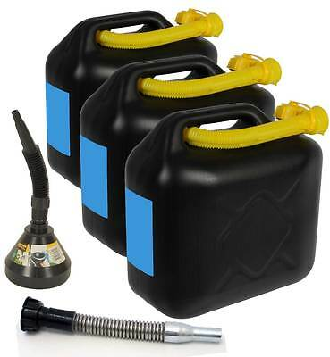 3 x 20 L Kraftstoffkanister Benzinkanister Kanister Kraftstoff Tank UN-Zulassung