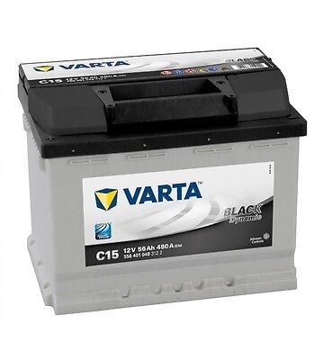 Batería de coche Varta C15 56Ah 12V 480A