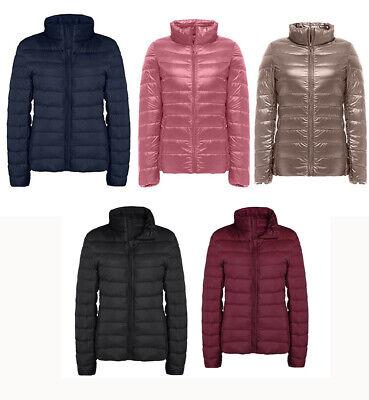 Down Puffer Vest - Women's Down Jacket Packable Ultralight Puffer Down Coats Winter Outwear US