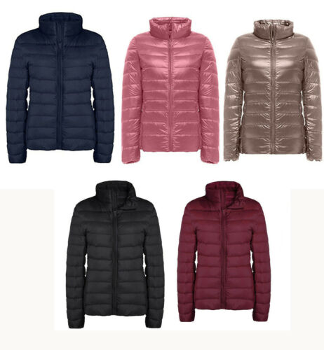 Women's Down Jacket Packable Ultralight Puffer Down Coats Wi