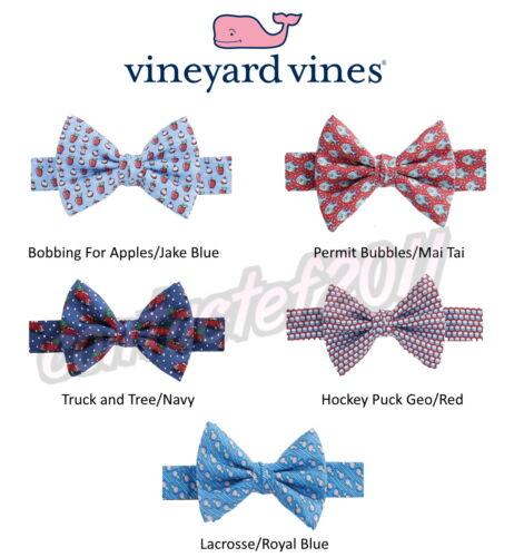 Vineyard Vines Boys ASSORTED 100% Silk Bow Ties BRAND NEW IN BOX!
