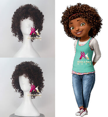 Halloween Wig Tips (Home Gratuity Tip Tucci Short Curly Dark Brown Halloween Party Cosplay)