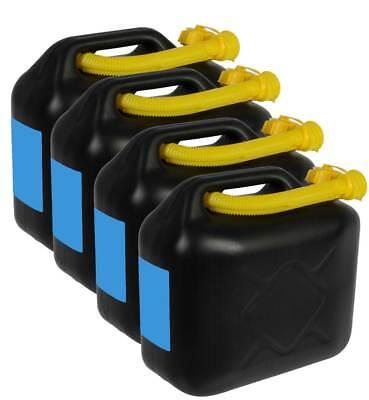 4 x 20 L Kraftstoffkanister Benzinkanister Reserve Kanister Tank UN-Zulassung