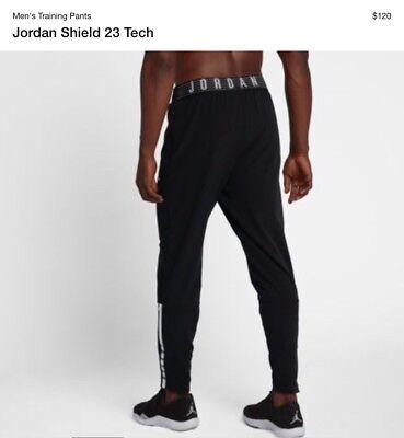 8ca2cafce43271 Jordan Shield 23 Tech Men s Training Gym Pants 926455-010 XL