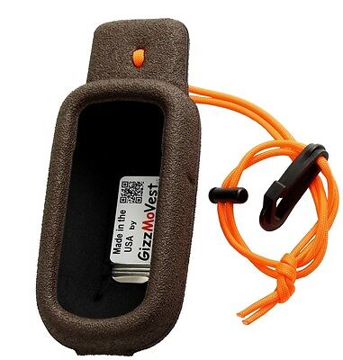 Garmin Holster (CASE COVER Holster for Garmin Alpha 100 Tough, Made in the USA by GizzMoVest Cof)