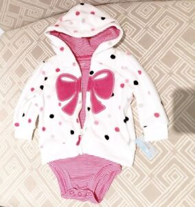 Carter's baby girl outfit BNWT