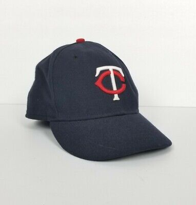 MINNESOTA TWINS Fitted Size 7 1/2 NEW ERA Hat Cap Wool Authentic Collection MLB Twins Hat Cap