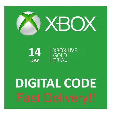 Microsoft Xbox Live 14 Day Gold Membership Code ( FAST DELIVERY)