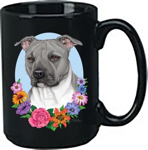 Blue Pit Bull Terrier Black Ace Mug (TP) 99500