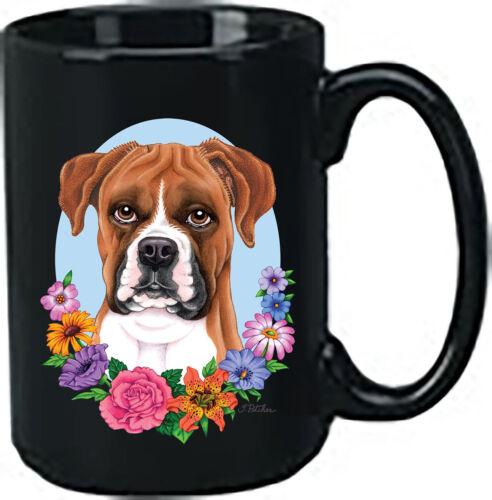 Uncropped Fawn Boxer Black Ace Mug (TP) 99125