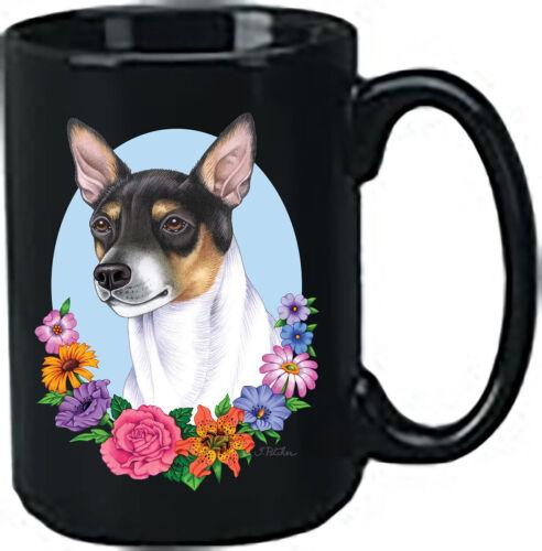 Rat Terrier Black Ace Mug (TP) 99130