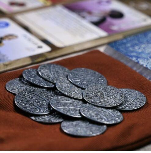 Pax Pamir : Metal Coins & Cloth Bag