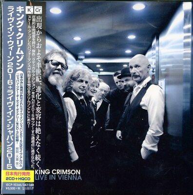 KING CRIMSON-LIVE IN VIENNA-JAPAN 3 CD BONUS TRACK N44