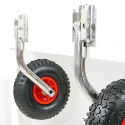 Easy Fold Launching Wheels for Boat Inflatable Dinghy RIB By MiDMarine