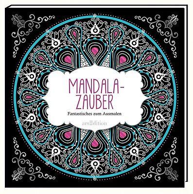 Malbuch für Erwachsene: Mandala-Zauber,