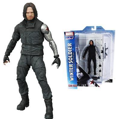 Marvel Select Winter Soldier Captain America Civil War Movie Figure Diamond CHOP