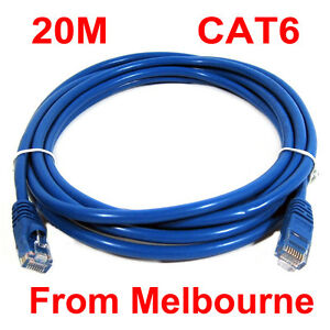 20M 65FT RJ45 CAT6  Ethernet LAN Network Cable 10M/100M/1000M compatible!