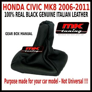 honda civic type r 06 gear shift gaiter gaitor cover. Black Bedroom Furniture Sets. Home Design Ideas