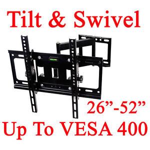 26-52-Tilt-Swivel-LCD-LED-Plasma-TV-Wall-Mount-Bracket-29-32-37-42-46-47-49-50