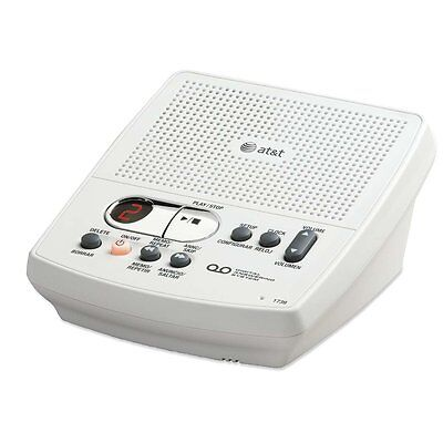 AT&T 1739 Corded Digital Answering System, White on Rummage