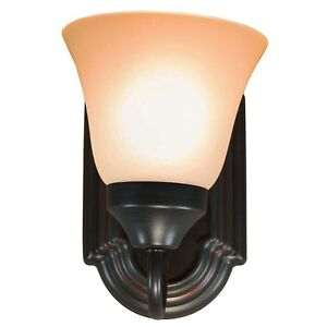 oil rubbed bronze interior lighting wall sconce light