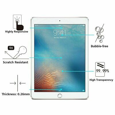Tempered Glass Screen Protector For Apple iPad 2 3 4 5 6 Air Pro Mini iPhone 5S Computers/Tablets & Networking