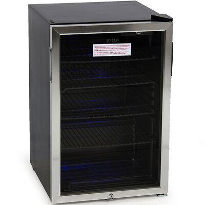 Beverage Refrigerator Mini Wine Fridge Soda Beer Water Drinks Bar Cooler Stand for sale  Rowland Heights