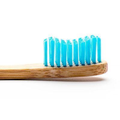 Humble Brush Eco Friendly Bamboo Adult Toothbrush Medium Blue