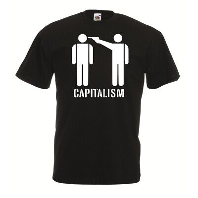 No Capitalism - Shirt Antifaschistische Aktion