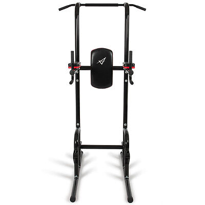 Multi-Function Dip Station Power Tower Pull up Push Chin Bar Home Core Indoor